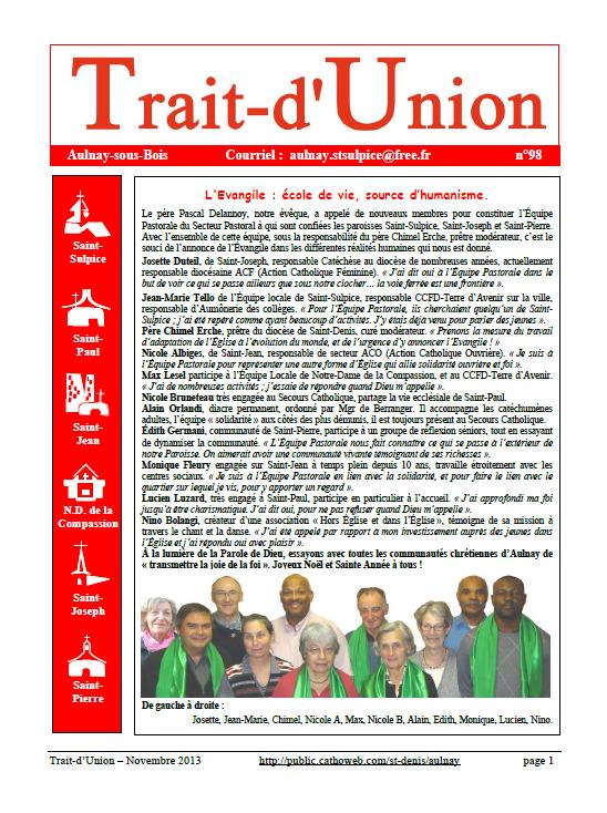 Page Trait d'Union n°98
