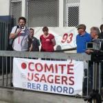 Assemblée générale du Comité des Usagers du RER B Nord à Aulnay-sous-Bois le 19 Mai 2015