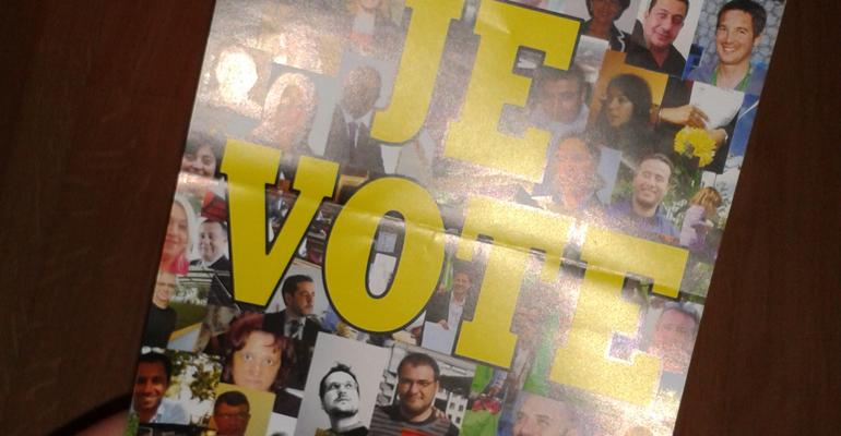 Tract EELV je vote avant - 93600INFOS Alexandre Conan