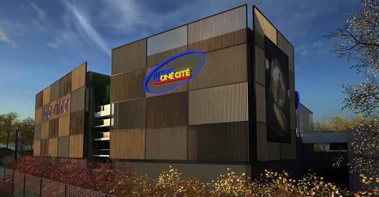 2592 places assises seront créées dans les 14 salles du futur complexe UGC qui ouvrira courant 2014 à O'Parinor | (C) Hardy consulting