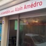 Alain Amédro ouvre sa permanence de campagne Avenue Anatole France