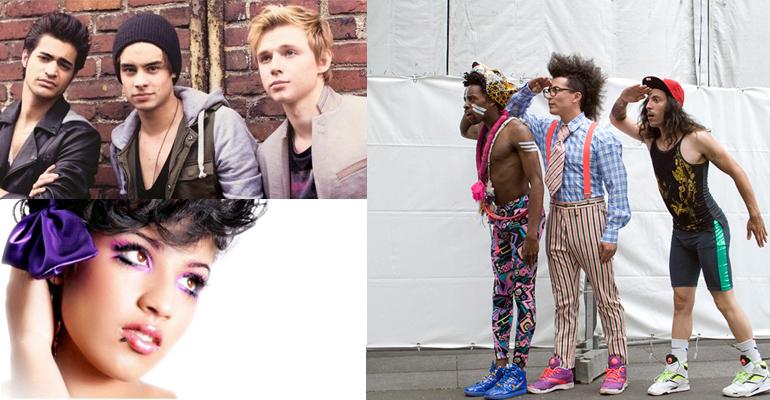 Qui de Destan, Joanna Lagrave ou Twin Twin représentera la France à l'Eurovision 2014 ? | (C) Fan2 - Charts In France - Les Inrocks