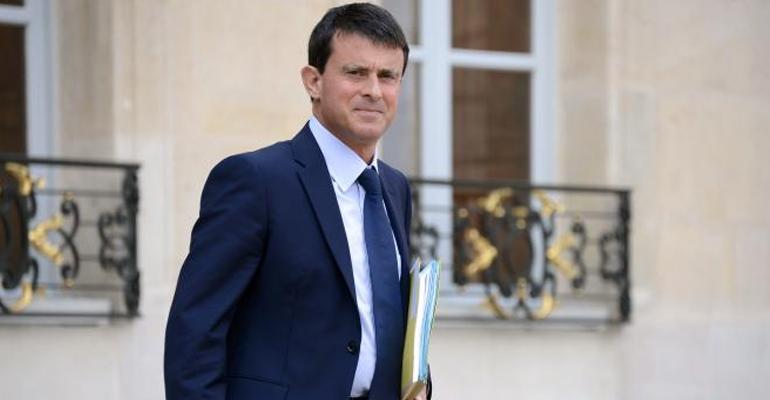 Manuel Valls est l'un des ministre les plus plébiscité des français pour sa politique sécuritaire, cependant la gauche le trouve dérangeant. | (C) Bertrand Guay/AFP