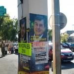 Affiches municipales Jacques Chaussat sauvage - Aulnaylibre!