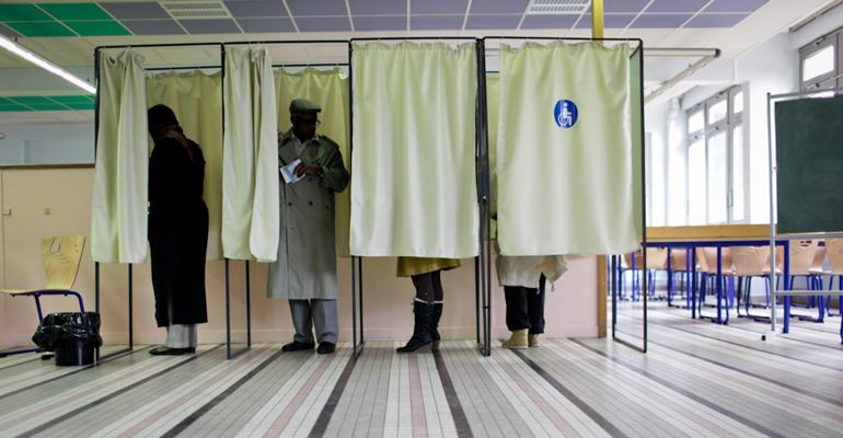 Le 1er tour des élections régionales se tient dans un contexte politique et sécuritaire inédit: l'état d'urgence. | (C) Elodie Ratsim