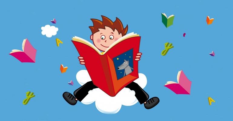 Les enfants aussi prennent passion à lire ! | (C) DR