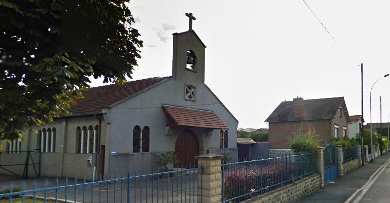 L'intérieur de la chapelle Saint-Pierre de Nonneville a été restauré il y a quelques années. | (C) Google Inc.