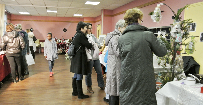 L'association Just-Ado-It a organisé en décembre dernier sa première expo-vente. | (C) Just-Ado-It