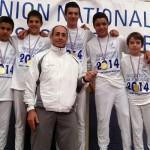 Des champions de France au collège Le Parc