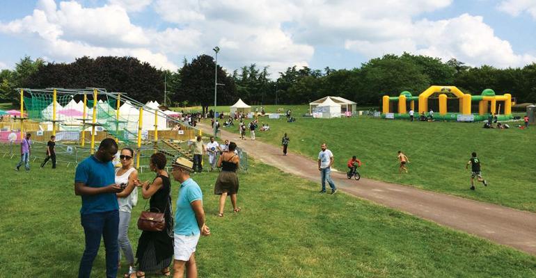 C'est sous un soleil radieux que l'édition 2014 de l'été à Ballanger a été inaugurée ce samedi. | (C) Bruno Beschizza