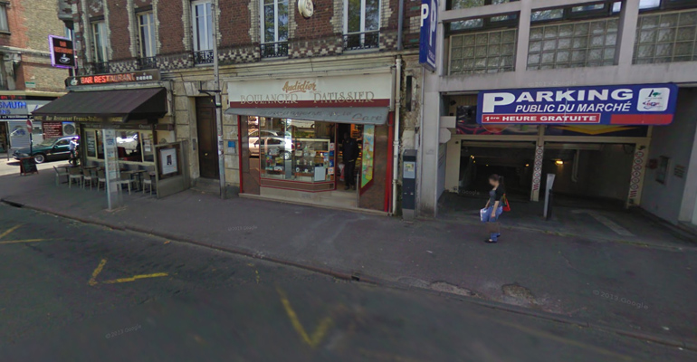 Une boulangerie du centre ville a pris feu accidentellement ce lundi. (Photo d'archive) | (C) Google Inc.