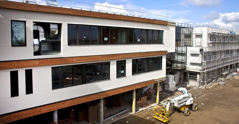 Le 7ème collège d'Aulnay-sous-Bois en chantier. | (C) Conseil Général de la Seine-Saint-Denis (Image d'archives)