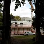 Visite du chantier d'une nouvelle maison de retraite à Aulnay-sous-Bois