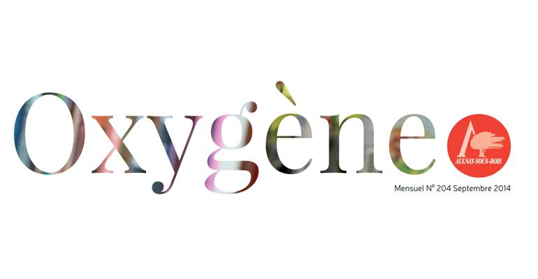 Le changement de maquette du magazine municipal inclut un nouveau logo pour Oxygène. | (C) Mairie d'Aulnay-sous-Bois