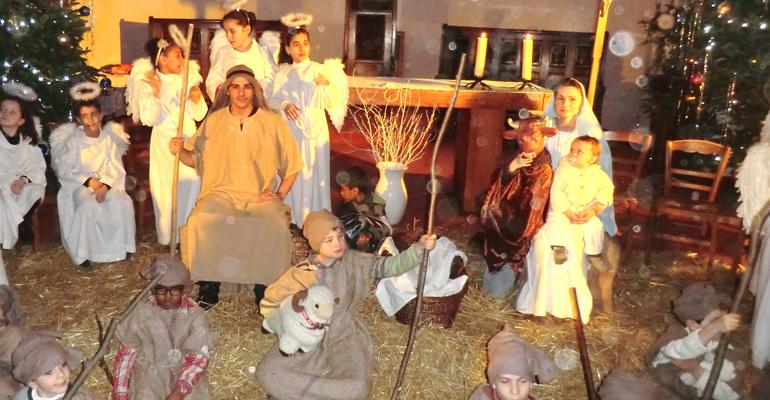 L u2019église Saint Joseph d u2019Aulnay sous Bois organise pour No u00ebl une grande cr u00e8che vivante  # Creche Aulnay Sous Bois