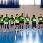 Les amazones du Aulnay Handball s'imposent avec difficultés face à l'équipe de Sambre