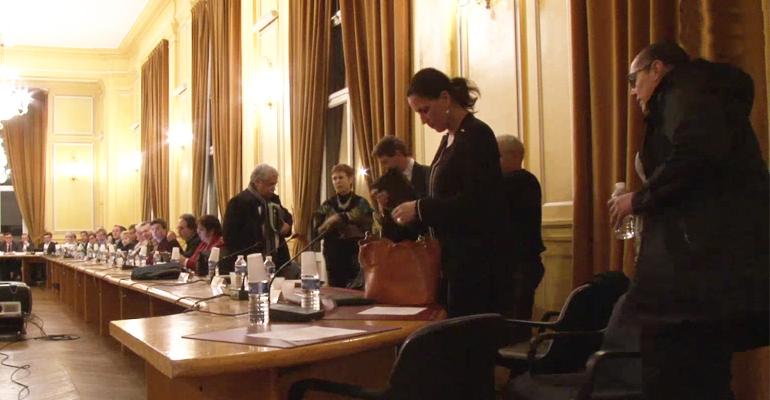 Le groupe PS-PRG a décidé de quitter rapidement le conseil municipal. | (C) Mairie d'Aulnay-sois-Bois
