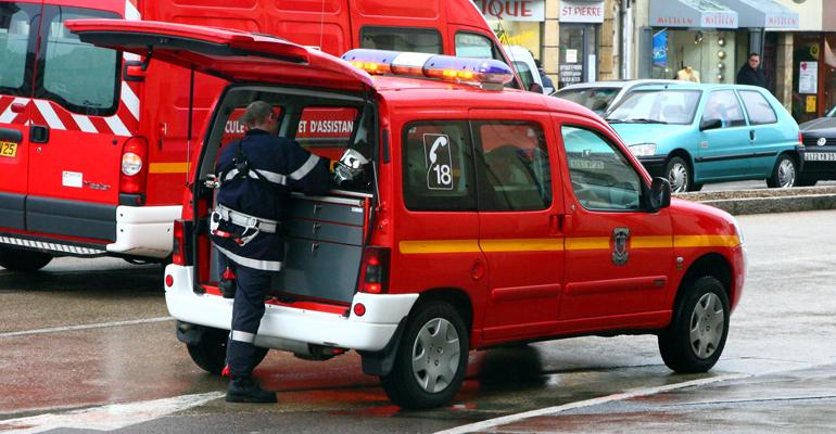 Les pompiers sont rapidement intervenus sur les lieux de l'incident. | (CC) Rama