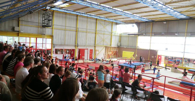 Depuis toujours, le Gymnase Maurice Tournier situé dans le sud de la ville accueille les activités des Amis Gymnastes d'Aulnay-sous-Bois. | (C) 93600INFOS / Alexandre Conan