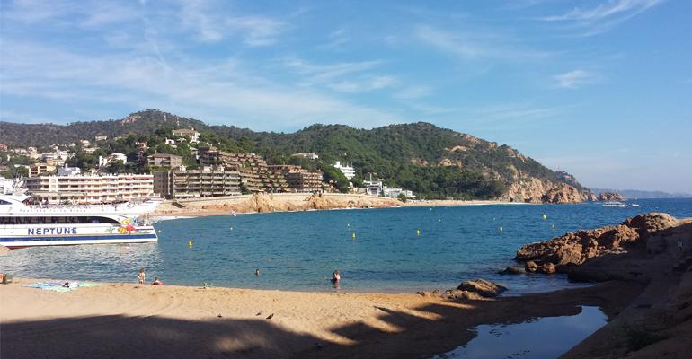 Visitez l'Espagne, son soleil, sa chaleur et ses paysages magnifiques ! (Tossa De Mar, image d'illustration) | (C) 93600INFOS / Alexandre Conan