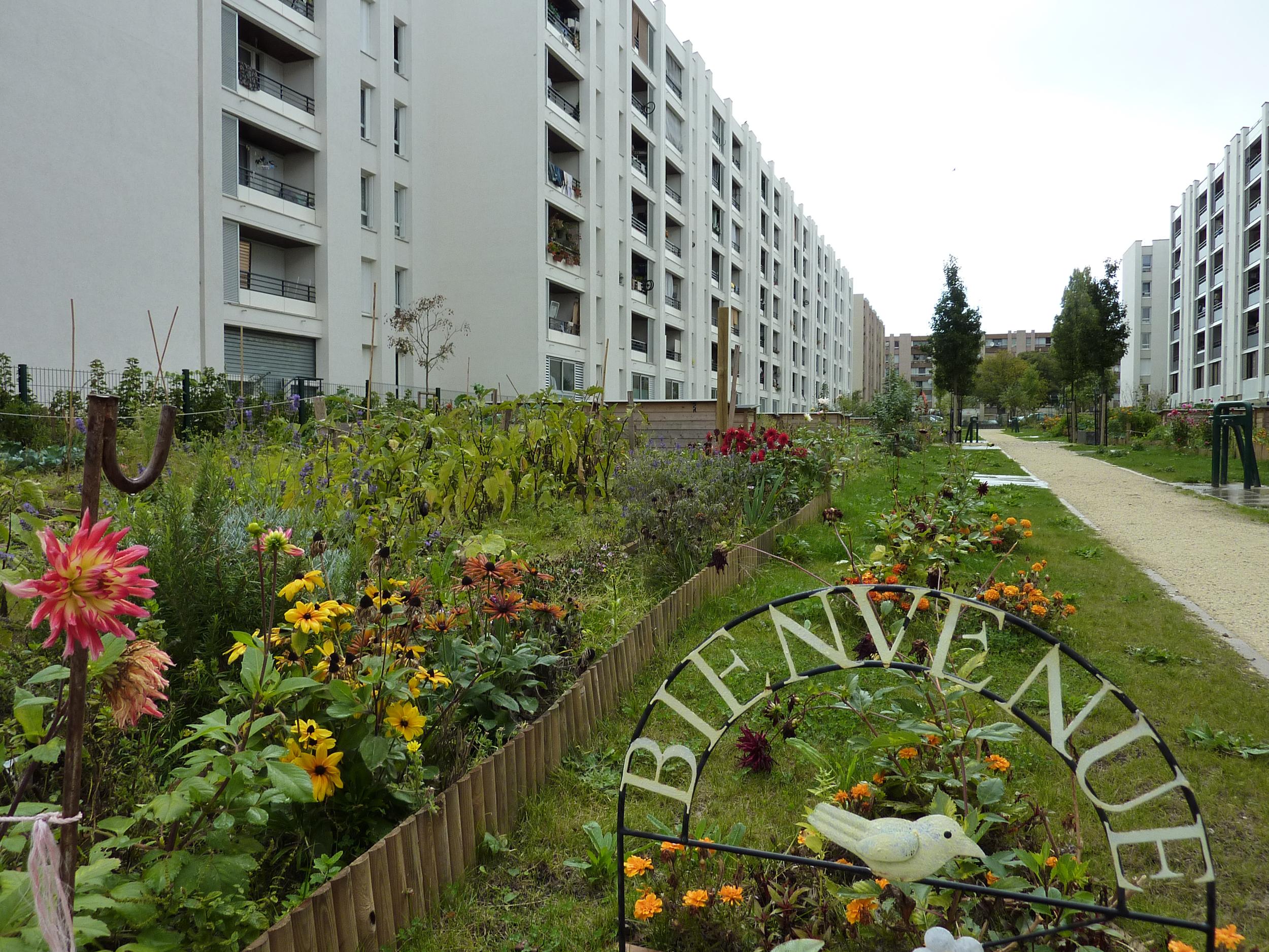 Les Jardins du Zephyr à Aulnay-sous-Bois | (CC) Petit Louis