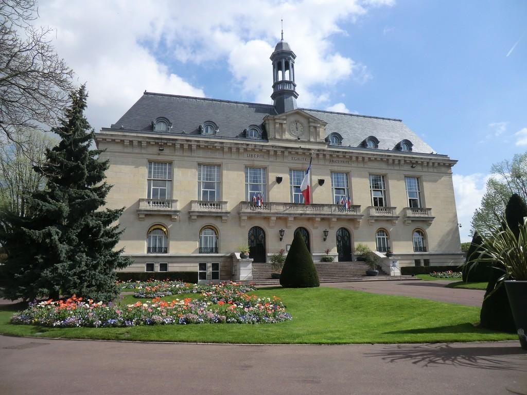L'hôtel de ville est le lieu où siège le conseil municipal d'Aulnay-ous-Bois. | © 93600INFOS.fr/Alexandre Conan