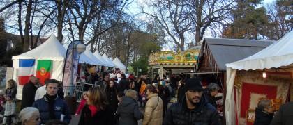 La 1ère édition du marché de Noël l'an dernier avait été un franc succès.   © 93600INFOS.fr / Alexandre Conan