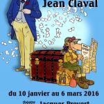Jean Claval expose ses dessins au Théâtre Jacques Prévert jusqu'au 6 mars 2016