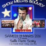 Spectacle du sosie d'Elvis Presley ce samedi soir à Aulnay-sous-Bois