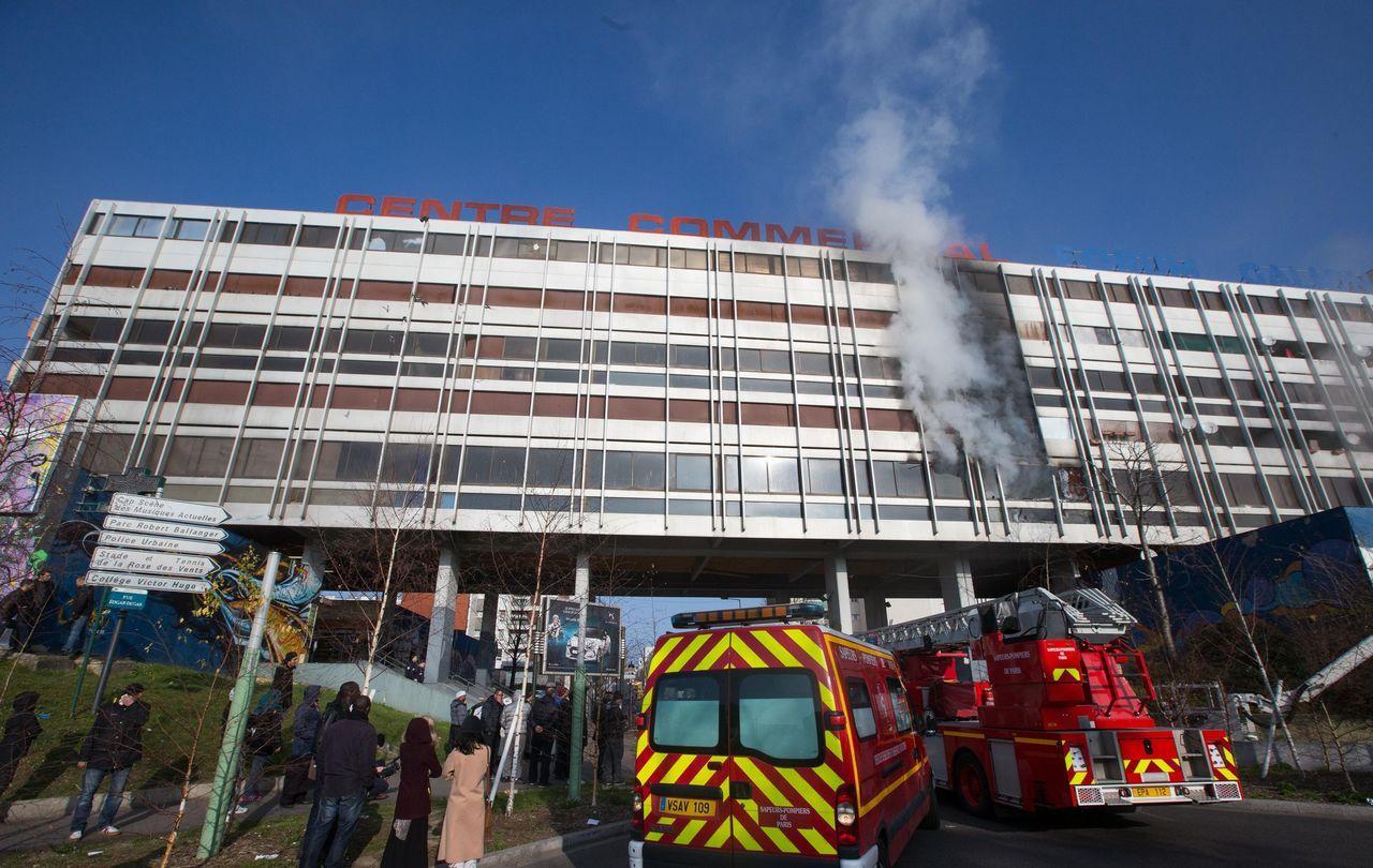 Malgré son caractère impressionnant, l'incendie survenu ce dimanche n'a pas fait de victime. | © Pompiers de Paris