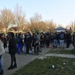 250 jeunes ont manifesté devant le Lycée Jean Zay contre la loi El Khomri jeudi matin
