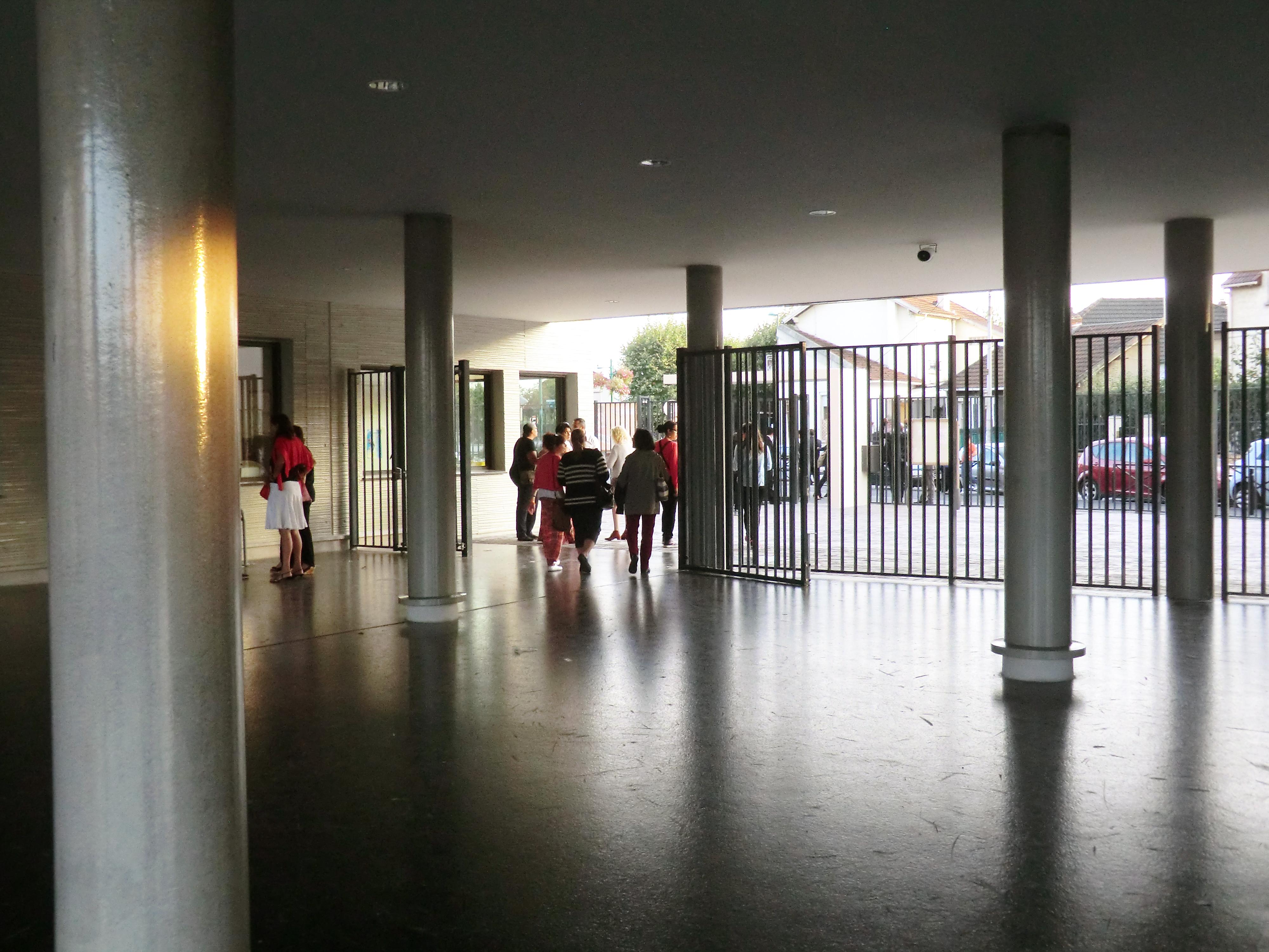 Le collège Simone Veil d'Aulnay-sous-Bois est un établissement tout numérique inauguré en septembre 2014. | © 93600INFOS.fr/Alexandre Conan