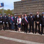 Des policiers municipaux d'Aulnay-sous-Bois décorés par le Préfet