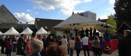 La première édition de la Fête de l'Europe en 2015 avait permis de rassembler plusieurs élus européens à Aulnay-sous-Bois. | © 93600INFOS.fr / Alexandre Conan