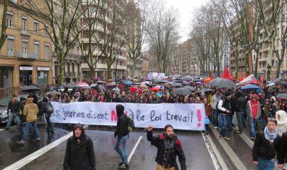 Les manifestations se multiplient chaque semaine depuis début mars dans tout le pays contre la loi travail. | © B. Colin / 20 Minutes