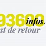 C'est l'heure du grand retour pour 93600INFOS.fr !