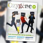 """En septembre, le magazine municipal """"Oxygène"""" met le cap sur les nouveautés de la rentrée"""