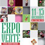Expo-vente du 9 au 15 décembre 2017 au foyer-club André Romand