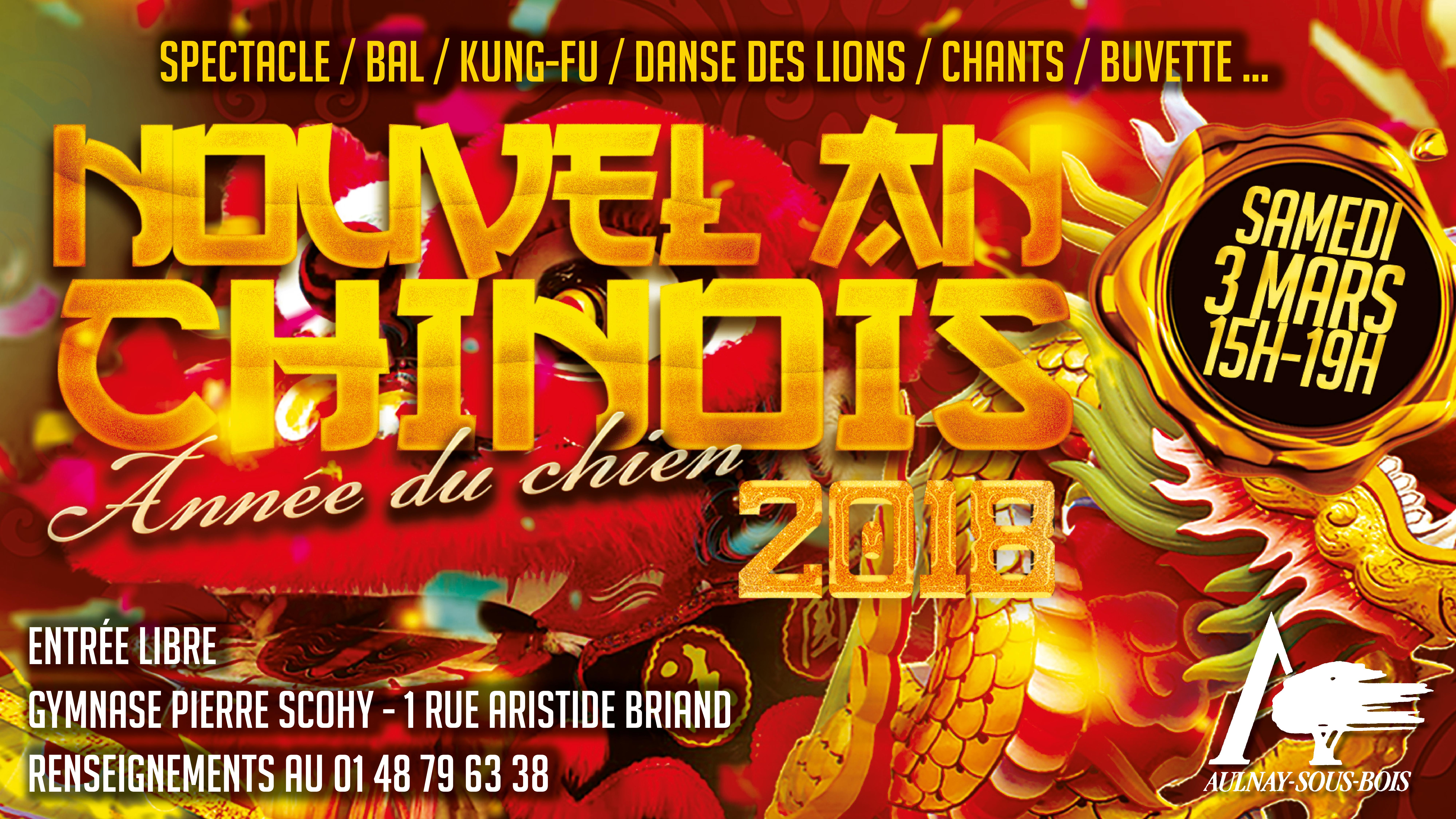 Aulnay-sous-Bois fête le nouvel an chinois ce samedi !