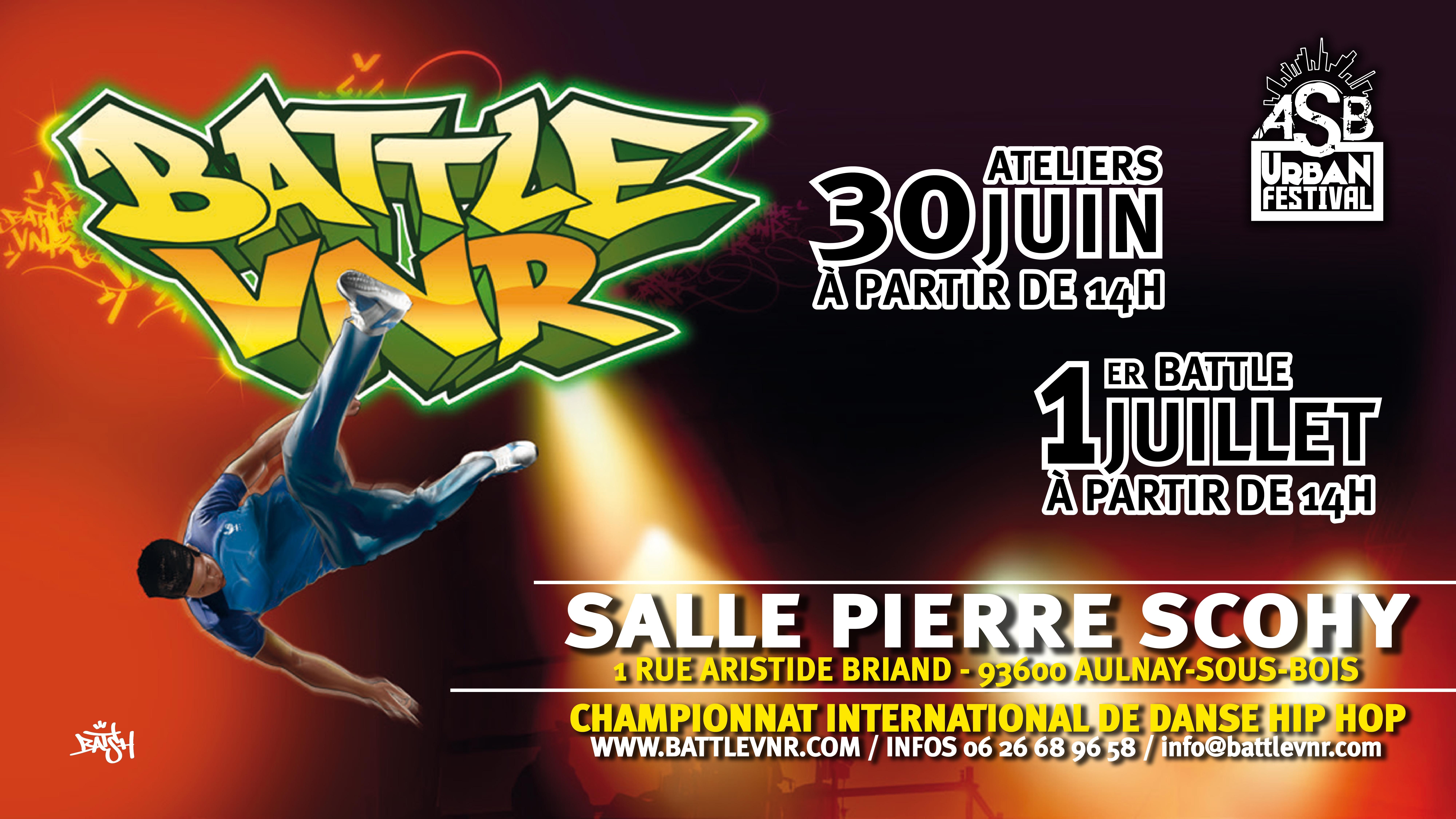 Un festival urbain à Aulnay-sous-Bois ce week-end