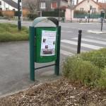 Affiches municipales Alain Amédro poubelle - 93600INFOS-Alexandre Conan