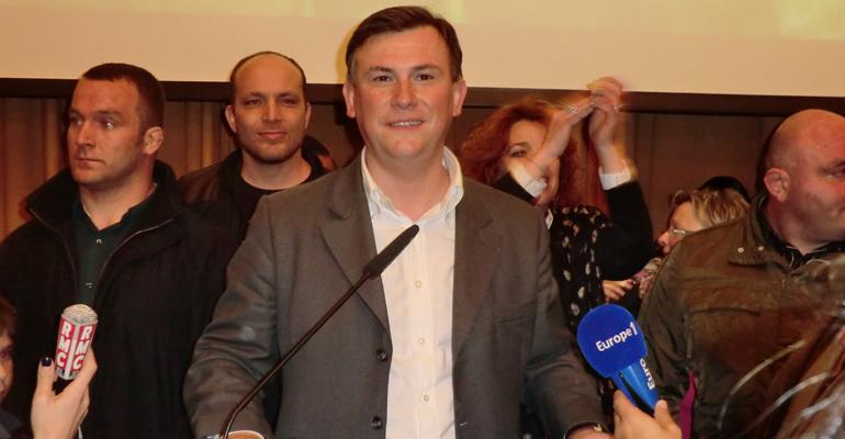 Bruno Beschizza discours mairie élections municipales 2014 - 93600INFOS Alexandre Conan