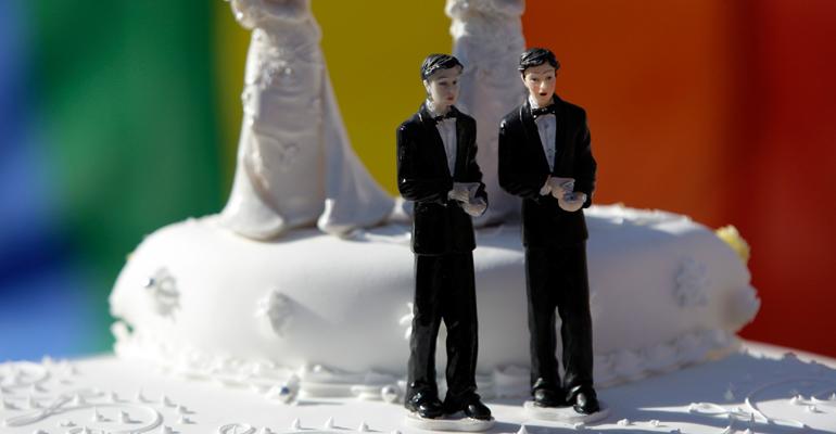 La loi Taubira ouvre la mariage aux couples de personnes de même sexe depuis fin Mai 2013. | (C) DR