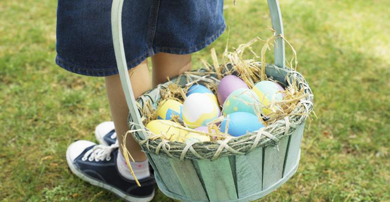 A vos paniers les enfants, Pâques, c'est ce dimanche ! | (C) Thinkstock