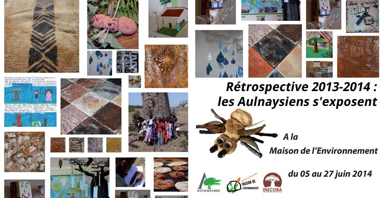 Les aulnaysiens qui ont participé a des projets menés avec la Maison de l'environnement s'exposent du 5 au 27 Juin dans cette structure municipale.   (C) Mairie d'Aulnay-sous-Bois