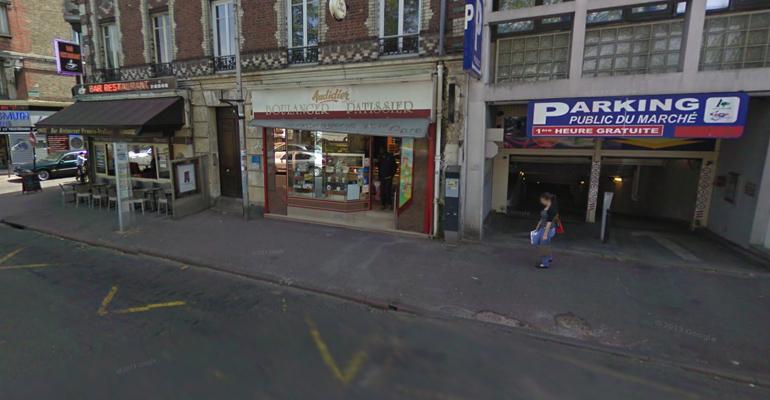 Une boulangerie du centre ville a pris feu accidentellement ce lundi. (Photo d'archive)   (C) Google Inc.