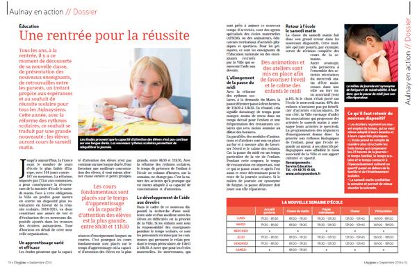 Oxygène Aulnay-sous-Bois Dossier - Mairie
