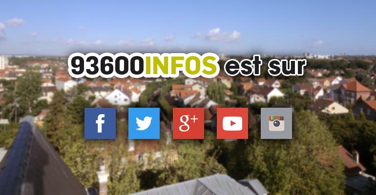 Afin de simplifier l'accès à l'information, 93600INFOS est présent, depuis toujours, sur les réseaux sociaux !   (C) DR