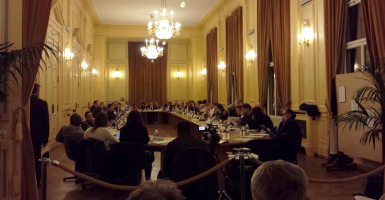 La séance du conseil municipal, bien que retransmise en direct sur internet, est aussi ouverte au public. | (C) 93600INFOS / Alexandre Conan