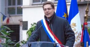 Philippe Dallier, sénateur (UMP) de la Seine-Saint-Denis, en déplacement à Aulnay-sous-Bois le 30 novembre 2014.   (C) 93600INFOS / Alexandre Conan